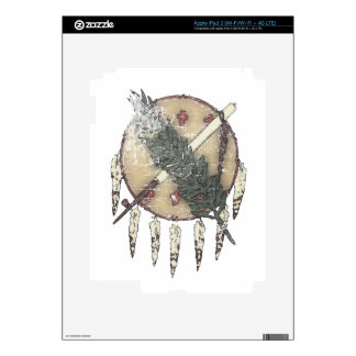 Faded Dreamcatcher Skin For iPad 3