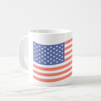FADED FLAG COFFEE CUP