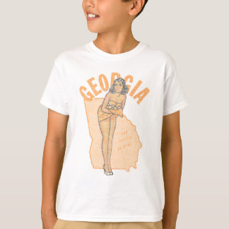 Faded Georgia Pinup T-Shirt