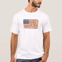 Faded Glory American Flag T-Shirt