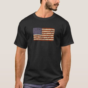 dpdesigns67 Faded Glory American Flag T-Shirt