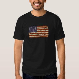 Faded Glory American Flag Tee Shirt