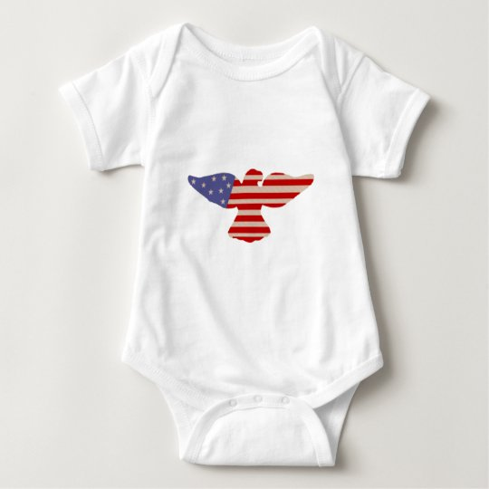 Faded Glory Eagle Baby Bodysuit