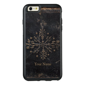 Faded Gold Leaf Ornate Add Your Name OtterBox iPhone 6/6s Plus Case