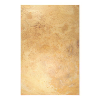 Faded Golden Organic Marble Design Stationery