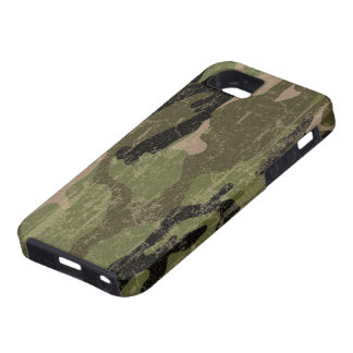 Faded Green Camo iPhone 5 Covers