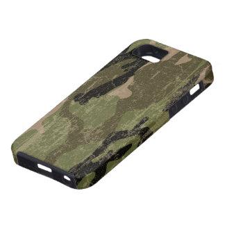 Faded Green Camo iPhone SE/5/5s Case