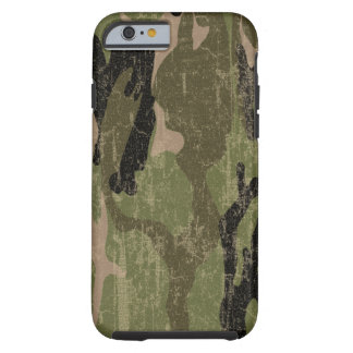 Faded Green Camo iPhone 6 Case