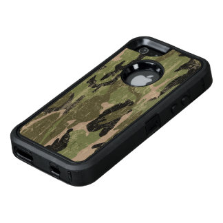 Faded Green Camo OtterBox iPhone 5/5s/SE Case