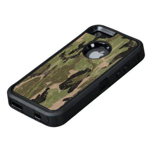 Faded Green Camo OtterBox iPhone 5/5s/SE Case : Zazzle