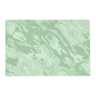 Faded Green Camo Placemat