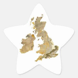 Faded Isles Star Sticker