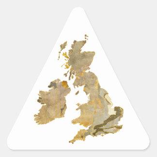 Faded Isles Triangle Sticker