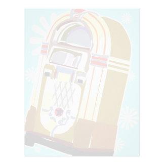 Faded Jukebox Letterhead