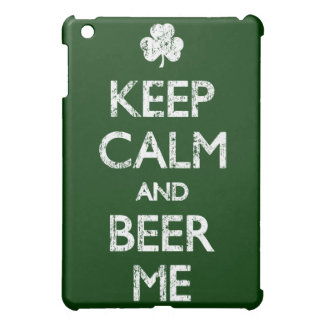 Faded Keep Calm And Beer Me Case For The iPad Mini