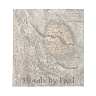 Faded knot Notepad notepad