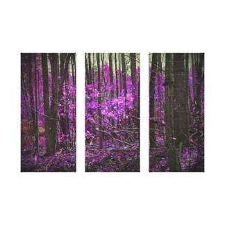 Faded Lavender Dreams Stretched Canvas Print