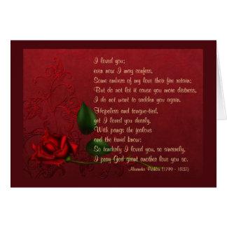Faded Love Card
