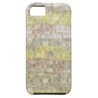Faded Measuring Tape Background iPhone 5/5S Covers