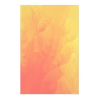Faded Molten Flames Design Stationery