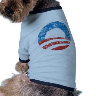 Faded Obama Logo Pet Tee