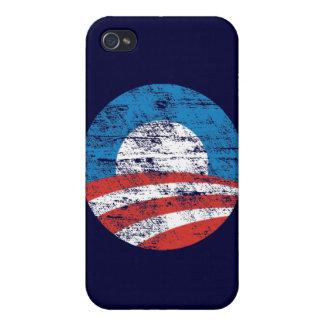Faded Obama Logo iPhone 4/4S Case