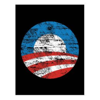 Faded Obama Logo Postcard