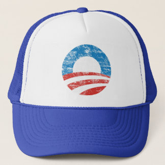 Faded Obama Logo Trucker Hat
