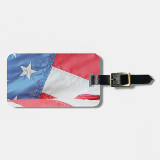 Faded Old Glory Bag Tag