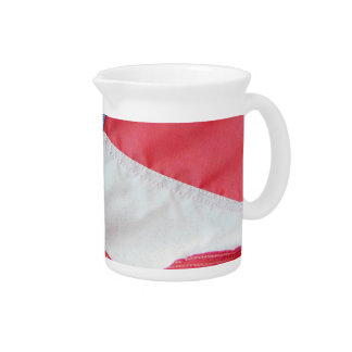 Faded Old Glory Drink Pitcher