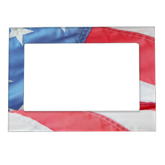 faded old glory magnetic photo frame