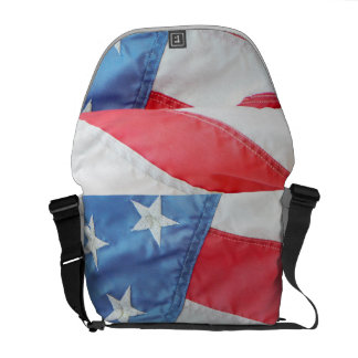 Faded Old Glory Messenger Bag