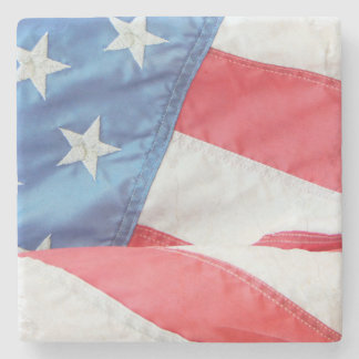 Faded Old Glory Stone Coaster