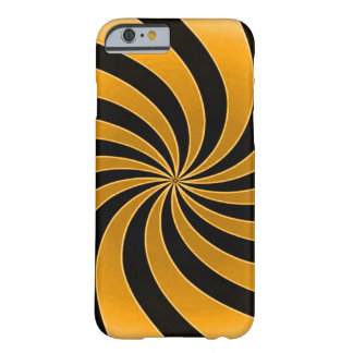 Faded Orange Mind Warp Barely There iPhone 6 Case