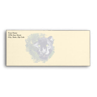 Faded Panther in Foliage Envelope