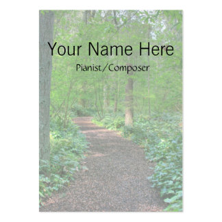 Faded Path Business Card