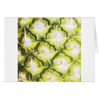 Faded Pineapple Greeting Card