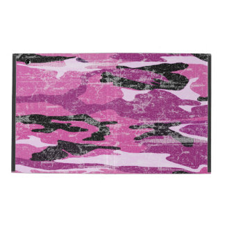 Faded Pink Camo iPad Case