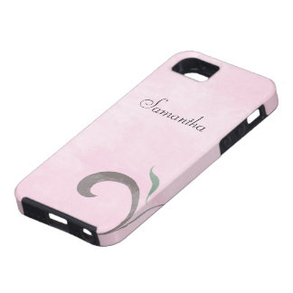 Faded Pink Flourish Case-Mate iPhone 5 Tough Case iPhone 5 Cases