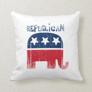 Faded.png republicano cojín decorativo