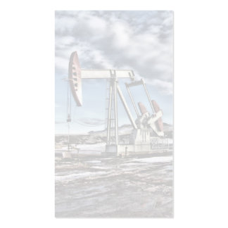 Faded Pumpjack Business Card
