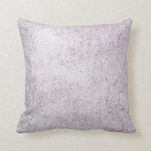 Light Purple Decorative Pillows : Faded Purple Light Flower Throw Pillow Zazzle