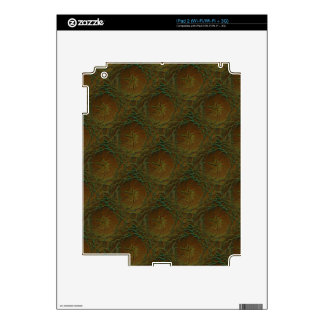 Faded Rose Decals For iPad 2