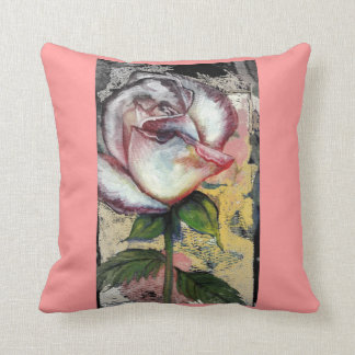 FADED ROSE pillow by CR SINCLAIR
