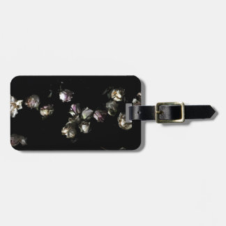 Faded Roses Luggage Tag
