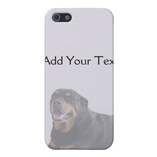 Faded Rottweiler Laying Down on Grey Cover For iPhone SE/5/5s