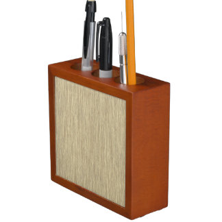 Faded Rustic Grainy Wood Background Pencil/Pen Holder