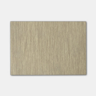 Faded Rustic Grainy Wood Background Post-it® Notes