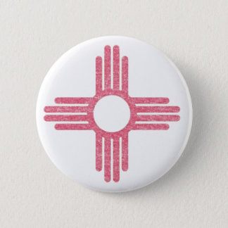 Faded State Flag Pinback Button