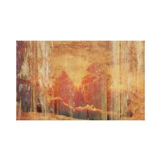 Faded tangerines canvas print